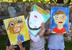 Being a good dad is a hard job, and can often go unappreciated. This year, the kids spent some time painting a portrait of their dad and writing him a special n