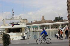 Cruce de caminos desde el Puerto de Málaga