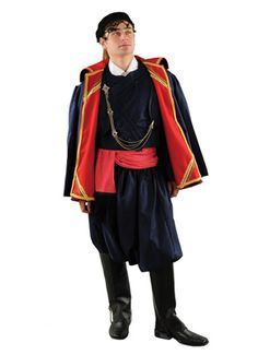 Greek Products : Traditional Greek Costumes for Adults : Crete Costume for Men Style 642029 Greek Traditional Dress, Traditional Outfits, Gaucho, Adult Costumes, Dance Costumes, Greek Costumes, Greek Men, Art Populaire, Country Dresses
