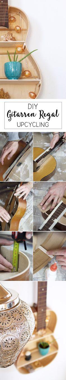 Gitarren-Regal bauen. DIY!