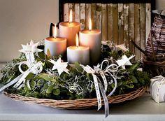 GALLERI: 5 smukke adventskranse - Stjernevrimmel