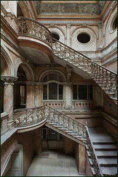Abandoned castle Poland