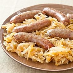 Slow-Cooker Beer Brats from America's Test Kitchen