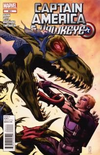 Captain America and Hawkeye #631 Cullen Bunn Alessandro Vitti ---> shipping is $0.01 !!!