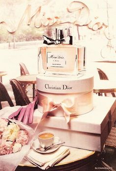 pretty boxes! Miss Dior