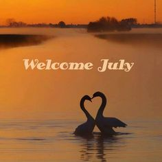 Welcome July. Just_Mel. Month quotes