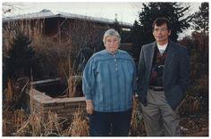 Portrait of Richard Tuttle (b. 1941) and Agnes Martin (1912-2004)