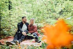 Our backyard in Mississippi Mills, ON is the perfect woodland for a romantic session Outdoor Engagement Photos, Fall Engagement, Engagement Session, Early Autumn, Mississippi, Photo Sessions, Woodland, Backyard, Romantic