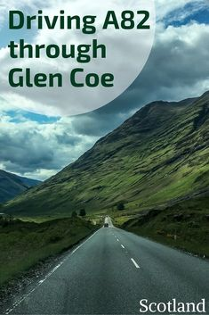 Scotland Travel Guide - Drive through the Glen Coe Valley Scotland on road A82 - best stops in photos | #Scotland | Scotland road trip | Scotland itinerary | Scotland things to do | Scotland highlands