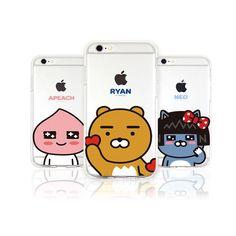 KAKAO FRIENDS POP iPhone 6 Plus/6S Plus Cell Smart Phone Jelly Case Protector #KAKAOFRIENDSPOP #iphone6plus #ryan #korean