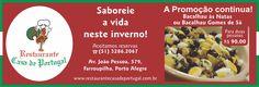 A #Promoção continua.. aproveite! Emoticon like #promo #portoalegre #gastronomia #cidadebaixa #culinária #POA #RS #RioGrandedoSul #Bacalhau #FrutosdoMar