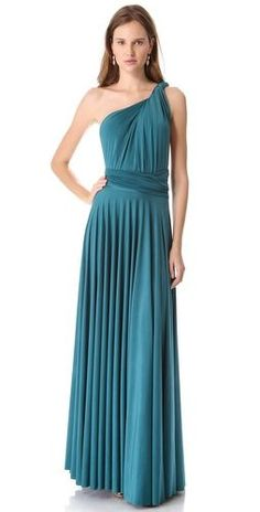 long twobirds convertible bridesmaids dress