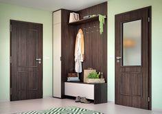Vnitřní dveře Sapeli - Bergamo CPL ořech americký struktur Decor, Tall Storage, Furniture, Tall Cabinet Storage, Home, Storage, Entryway, Home Decor, Storage Cabinet