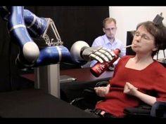 Paralyzed Woman Controls Robotic Arm With Thoughts - Dara O Briain's Science Club - BBC