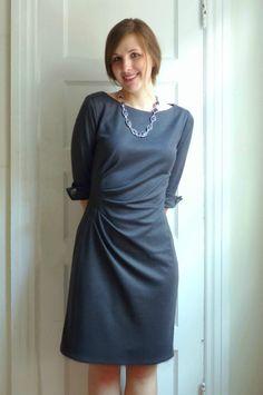 new look 6000 side pleat dress.