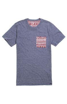 On The Byas Land Shark Pocket Crew T-Shirt