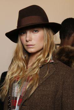 70568e51 Polo Ralph Lauren Backstage Fall 2014-15 Collection. Martica Lambiase · -cowboy  hats
