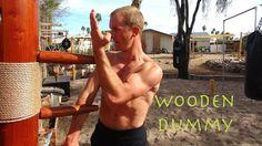 "Wing Chun WOODEN DUMMY Training - the New ""IP MAN"" - Mook Yan Jong - Mu ..."