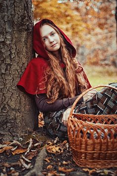 Little Red Riding Hood by ~ann-emerald on deviantART