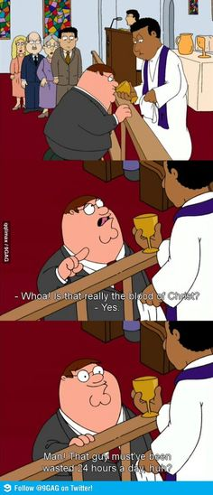 Peter Griffin at his best