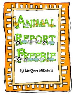 This is a template designed to help your students complete research on a animal. I hope you enjoy!...