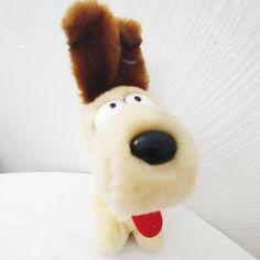 9720bedf227 Vintage Odie from Garfield Comics by Jim Davis Miniature Plush Stuffed  Animal 1988    With