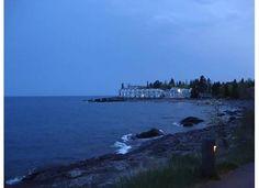 A beautiful nightfall on Bluefin Bay Resort - May 2012. Taken on the far side of the boardwalk. #MSPDestination