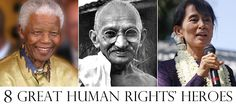 From Nelson Mandela to Jimmy Carter, these tireless advocates have made the world a better place. #history #humanrights
