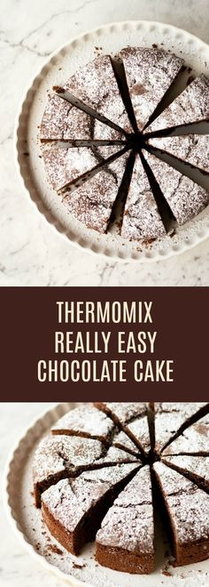 A simple recipe for Thermomix Chocolate Cake which is quick to make and tastes delicious! A simple recipe for Thermomix Chocolate Cake which is quick to make and tastes delicious! Thermomix Chocolate Cake, Cake Thermomix, Quick Chocolate Cake, Thermomix Desserts, Chocolate Desserts, Thermomix Recipes Healthy, Cakes To Make, How To Make Cake, Baking Recipes