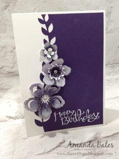 The Craft Spa - Stampin' Up! UK independent demonstrator : Botanical Blooms Trio card