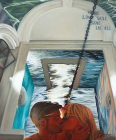 "Saatchi Art Artist Adrienne Egger; Painting, ""A Rope Of Three"" #art"