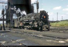 RailPictures.Net Photo: PRR 6490 Pennsylvania Railroad Steam 2-10-4 at Columbus, Ohio by John Dziobko www.godfatherrails.com