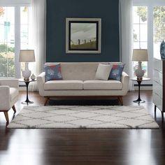 #TileEffectLaminateFlooring Dark Wood Floors Living Room, Accent Walls In Living Room, Rugs In Living Room, Living Room Decor, Best Flooring, Tile Flooring, Vinyl Flooring, Flooring Options, Laminate Flooring