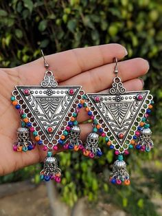 Semi Formal Attire, Designer Earrings, Filigree, Compliments, Jewelery, Crochet Earrings, Design Inspiration, Charmed, Delhi India