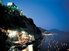 """<p>""""There are not enough adjectives to describe the wonders"""" of this hotel on the Amalfi Drive, where natural terraces are planted with citrus groves and gardens, securing a perfect design score. Guest rooms have colorful draperies, hand-painted-tile floors, ceramics, and family heirlooms. The open-air Ristorante Al Mare overlooks the pool, and lapis lazuli floors and vine-covered arches accent the main restaurant, where the menu is Italian. """"Staff are always friendly and ..."""