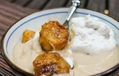 Butterscotch Pudding with Roasted Banana Whipped Cream - The Food ...