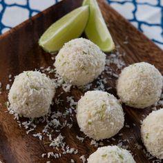 Coconut Lime Truffles