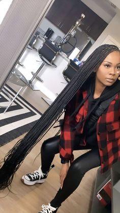 Black Girl Braids, Braids For Black Hair, Girls Braids, Baddie Hairstyles, Box Braids Hairstyles, Girl Hairstyles, Curly Hair Styles, Natural Hair Styles, Looks Instagram
