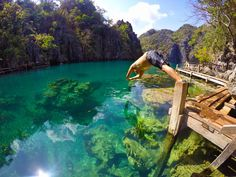 Photo of the Day! It's hard to beat the seclusion and beauty of nature's swimming pool. Captured by Carlo Caparas in the Philippines on a 3 Way Mount. #GoPro #GoProTravel #nature #wanderlust