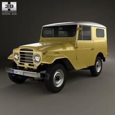 Toyota J20 Land Lw - 3D Model