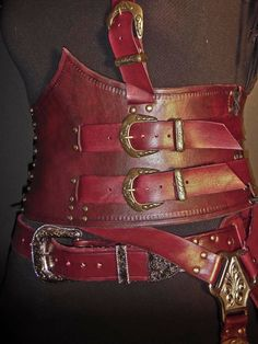 Made to order Mord Sith costume by IsilWorkshop on Etsy, $500.00 - love this etsy seller, she makes the most gorgeous leather color for Mod'siths!