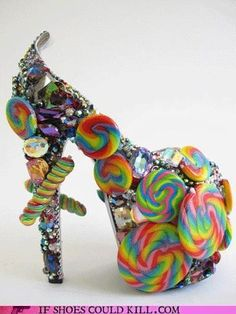 Rainbow Candy Shoe