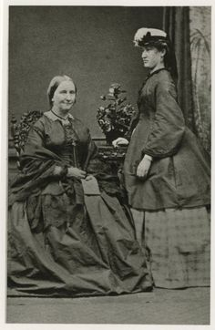 Alexandrine Tinne and mother Henriëtte Maria Louise van Capellen