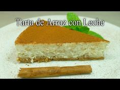 Tarta de Arroz con Leche (receta casera) - YouTube