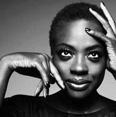 "-Viola Davis_actress ""Do not live someone else's life and someone else's idea of what womanhood is. Womanhood is you. Womanhood is everything that's inside of you."" Viola Davis. """