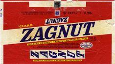 Old+Candy+Bars | CC_Clark – Zagnut 1 1-4 oz candy bar wrapper – 1970′s ...
