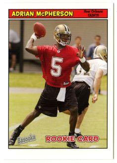 Adrian McPherson RC # 204 - 2005 Topps Baz Football NFL Rookie