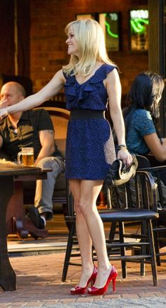 "Watched ""This Means War"" with Reese Witherspoon last night and LOVED her wardrobe in the movie."