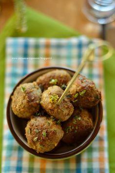 La Cucina Scacciapensieri: Polpette di carne finger al limone e timo