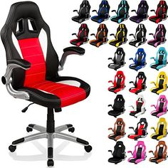 fauteuil gamer rouge et noir